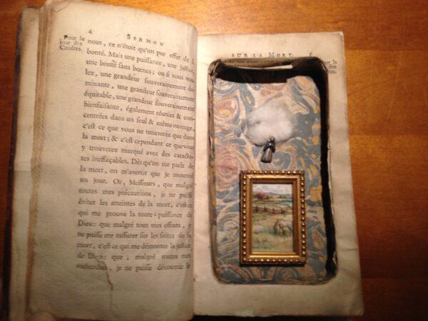 Hidden in a book