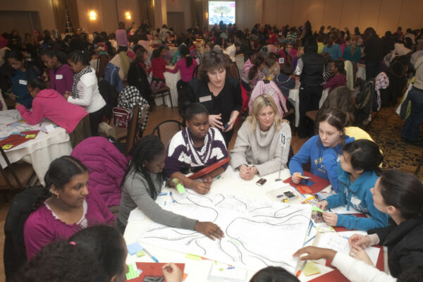 Young Women on the Move Beautiful Women Project Workshop