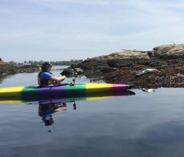 Kayaking with Technology