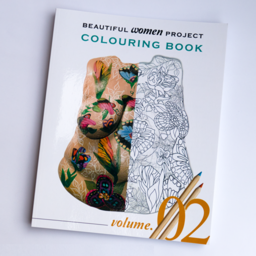 Volume 2 of the Beautiful Women Project colouring e-books